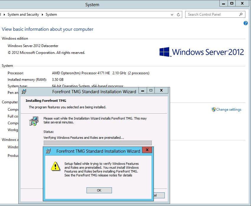 Forefront TMG 2010 und Windows Server 2012 – Dieters IT Blog