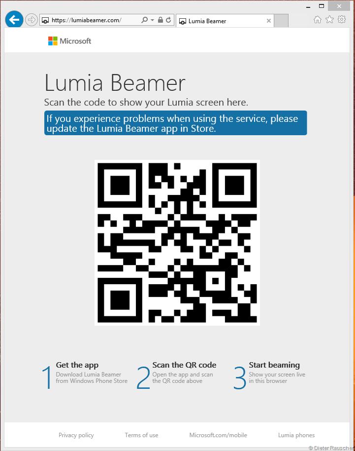 Website Lumiabeamer.com